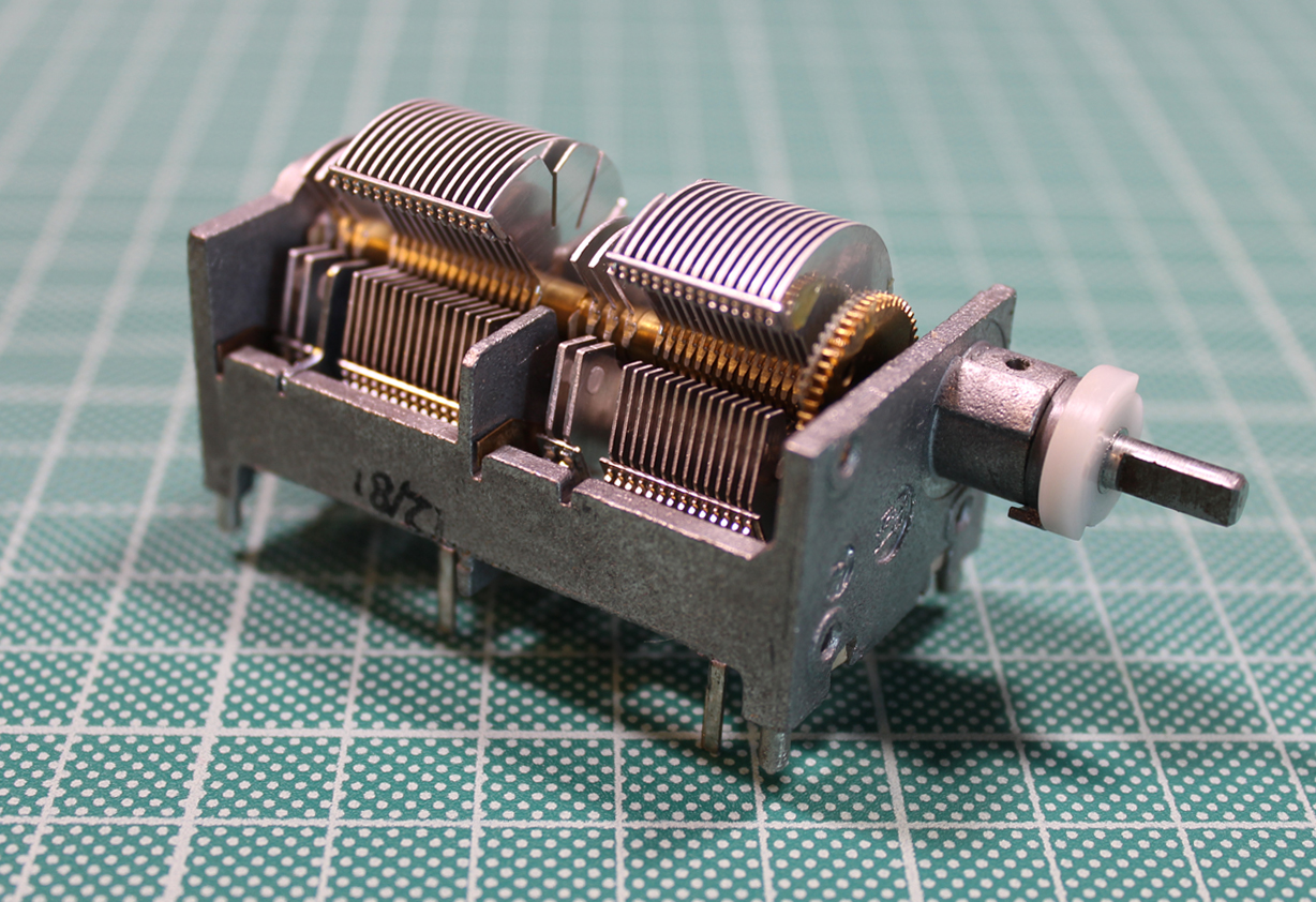 4 Sections Air Trimmer Capacitor