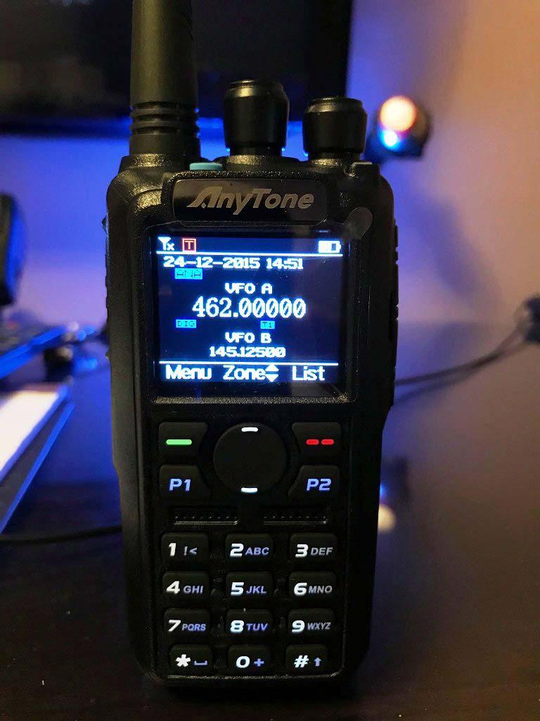 Anytone AT-D878UV GPS DMR radio